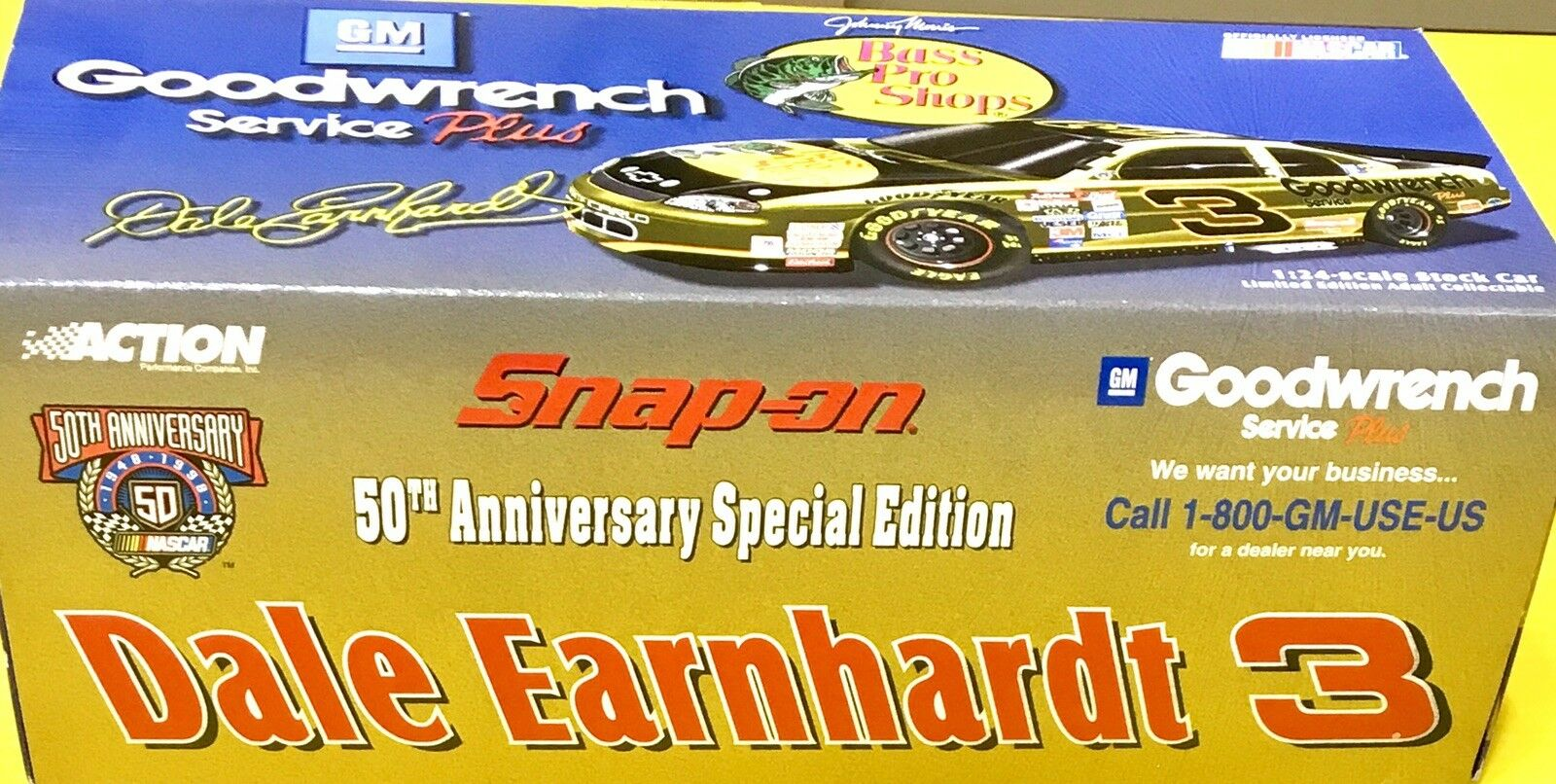 Action 50th Anniversary Special Edition NASCAR Dale Earnhardt
