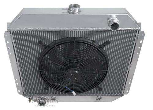 "16/"" Fan for 1968-1979 Ford F Series Truck V8 Eng 2 Row Racing Champion Radiator"
