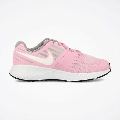 Nike STAR RUNNER (GS) Girls Grade School Pink RiseWhite 907257 602 Shoes   eBay