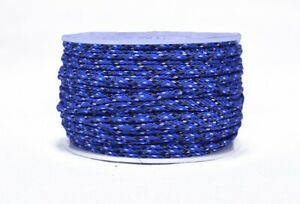 Blue Camo - Micro Cord 1.18mm 125ft Nylon Rope Spool - Made in the USA