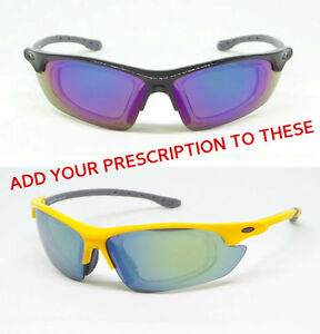 f988e7f3ef0 Men s Sports Sunglasses with Removable RX Prescription Adapter Flash ...
