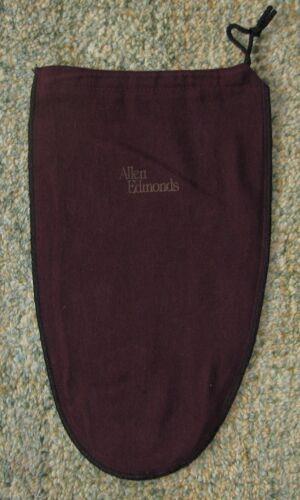 "ALLEN EDMONDS Drawstring Logo Dust Bag 8 1//2/"" X 13 1//2/"""