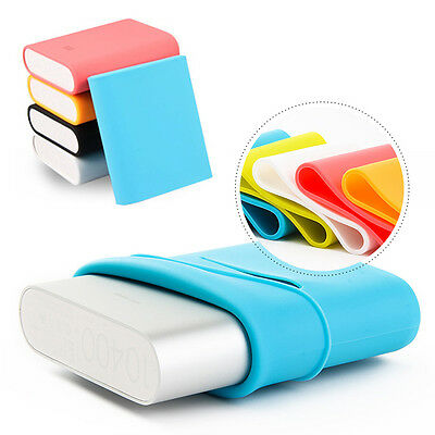 Hot Original Soft Solicone Case For Xiaomi 10400mAh Battery Power Bank New