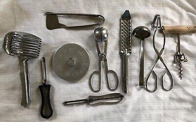 Vintage Kitchen Utensils Tools Gadgets lot Of 10 | eBay
