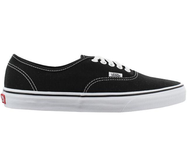 Vans Authentic Low Sneaker Schuhe Schwarz Canvas Turnschuhe Freizeit VN000EE3BLK