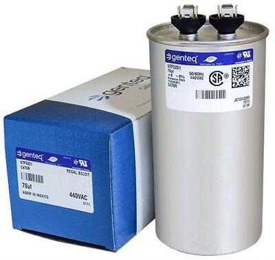 70 uf MFD 370 440 VAC ROUND Capacitor 12758 Replaces C370R C470R 97F9012 97F5251