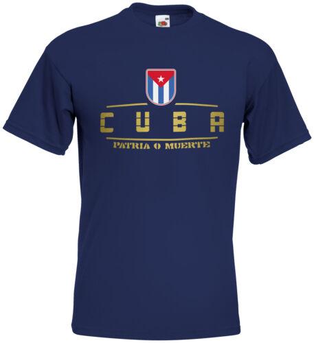 Kuba  Fanshirt Trikot WM2018 S M L XL XXL