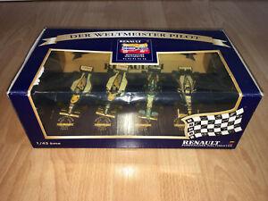 Coffret Renault F1 (formule 1) : Williams Benetton Mansell Prost Hill Schumacher