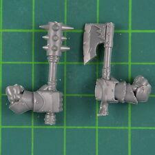 Schwarzorks Nahkampf Waffen B Warhammer Orks & Goblins Bitz 8488