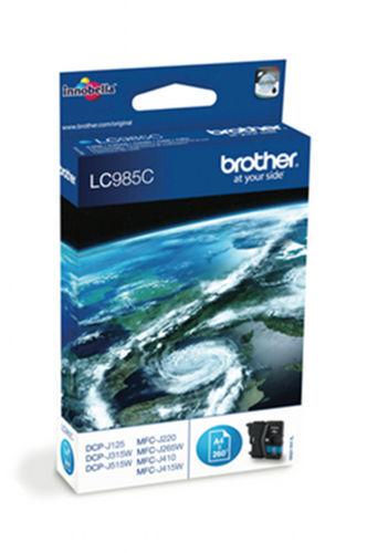 CARTOUCHE BROTHER LC985 CYAN 100% NEUVE / lc985C