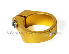 NEW TOKEN TK164 MTX ALLOY SEATPOST CLAMP FOR MTB 34.9MM, GOLD