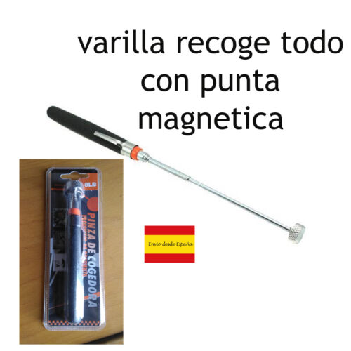 VARILLA CON IMAN PUNTA IMANTADA MAGNETICA TORNILLOS PINZA RECOGE TODO