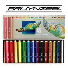 BRUYNZEEL - 45 matite colorate nella progettazione di tartaruga in metallo latta