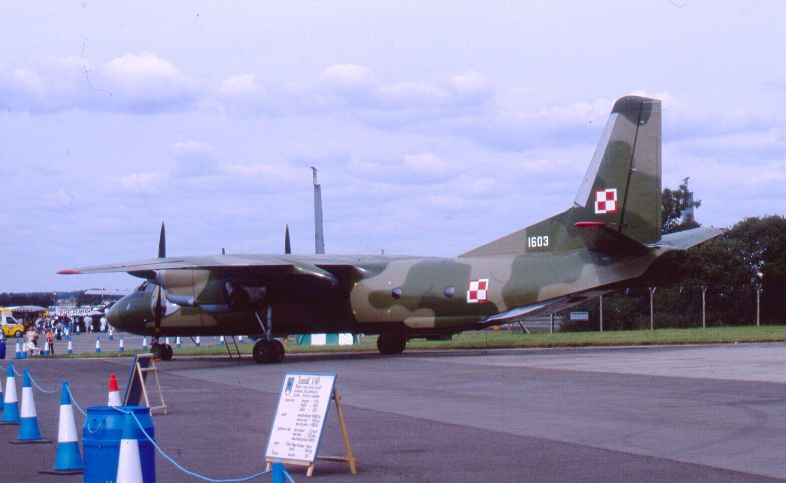 Original 35mm Aircraft slide Antonov An-26 #171