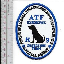 ATF Special Ops Under Cover Operations Special Agent /'/'Swift /& Silent/'/' Patch