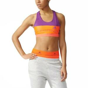 d2e21d7cf751a Image is loading adidas-Womens-Stellasport-Sports-Bra-Stella-McCartney -Padded-