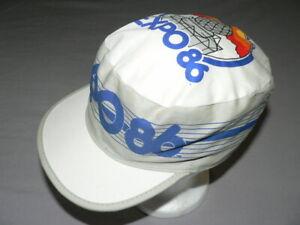 VTG-80S-EXPO-86-HAT-CAP-VANCOUVER-CANADA-PAINTER-STYLE-FANTASTIC