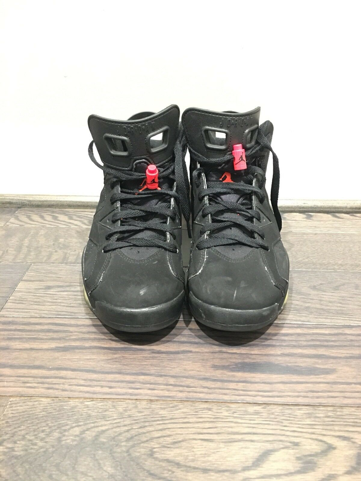 Air Jordan (2014) 6 VI Black Infrared (2014) Jordan Pre-owned SIZE 8 0bba56