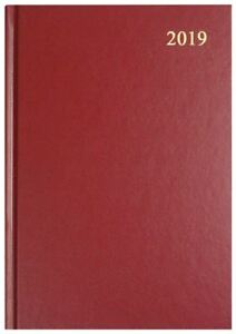 Collins-Essential-A4-Week-to-View-2019-Diary-Maroon