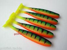 Drop shot lures 8 cm long, set of 5 kopyto tail - perch, pike, zander fishing