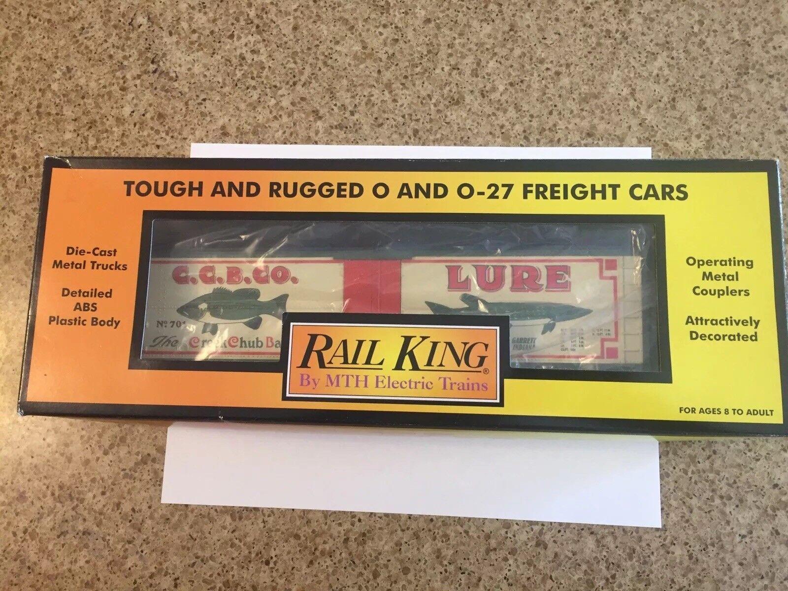 MTH CREEK CHUB BAIT COMPANY BOX CAR WITH ORIGINAL BOX