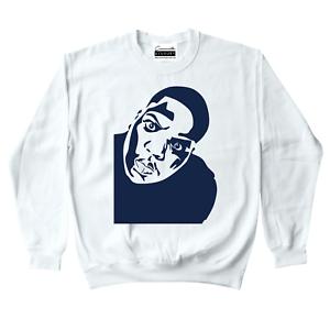 Biggie Smalls Crewneck Sweatshirt To Match Retro Jordan 11 Midnight Navy UNC