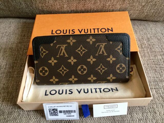 Lv M61855 Monogram Zip Around Zippy Wallet Retiro Mng For Sale Online