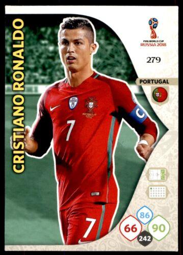Panini WORLD CUP 2018 ADRENALYN XL-Cristiano Ronaldo Portugal no 279