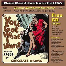 John Tefteller's Blues Images Calendar 2015 + FREE CD Paramount Race Record Art