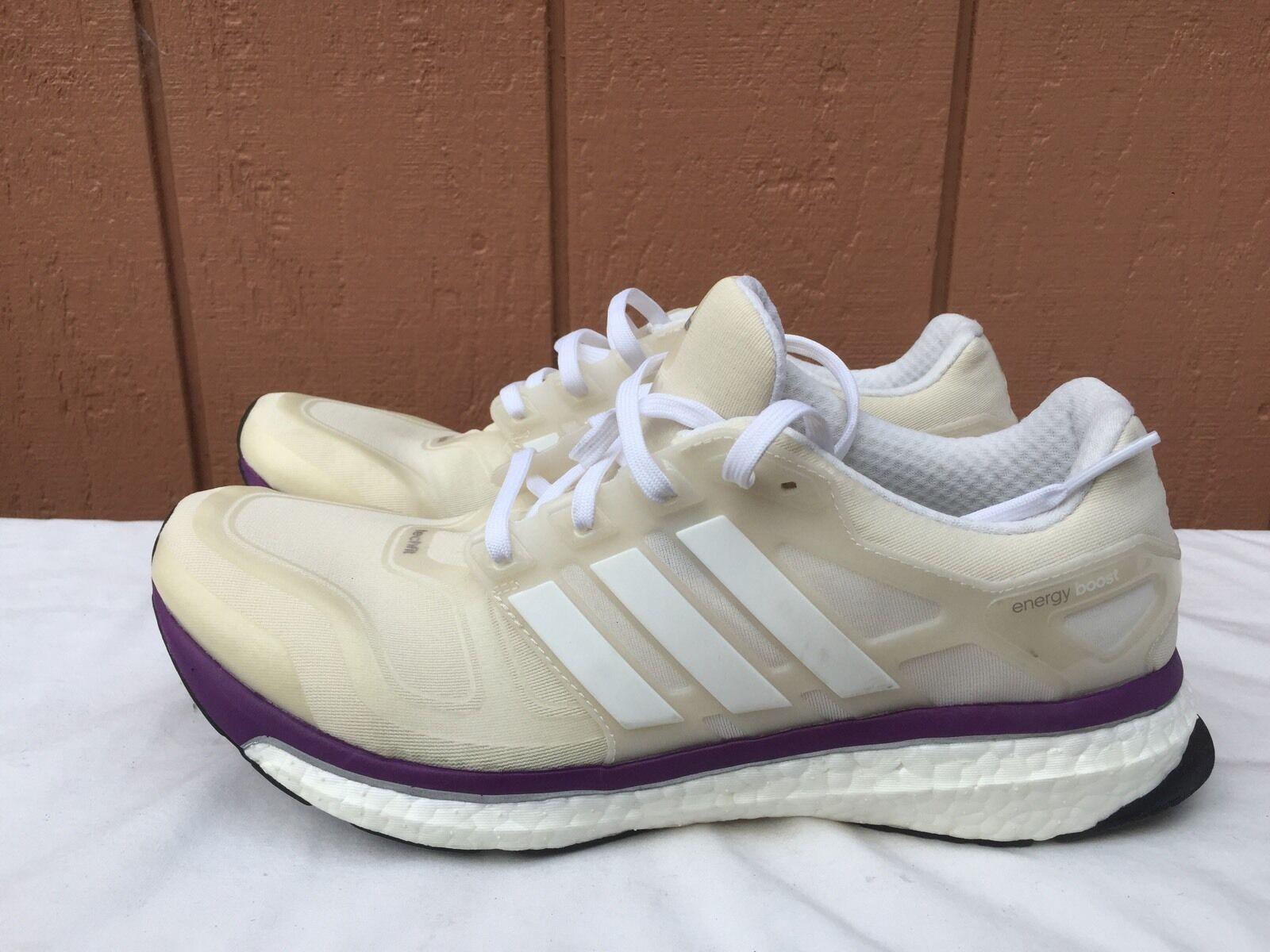 NEW Adidas Energy Boost 2 M Mens White Running Shoe US 10