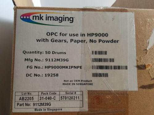 Qt 2 New OPC For HP9000 DRUM 9112M39G With Gears
