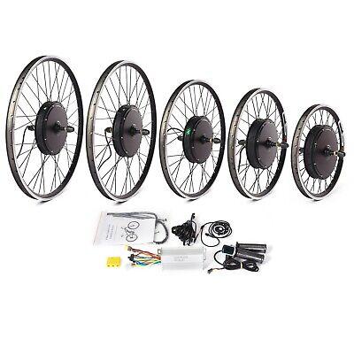 Ebike Conversion Hub Kit Electric MTB Wheel Motor PAS 8 KT 500W 1000W 1500W 48V