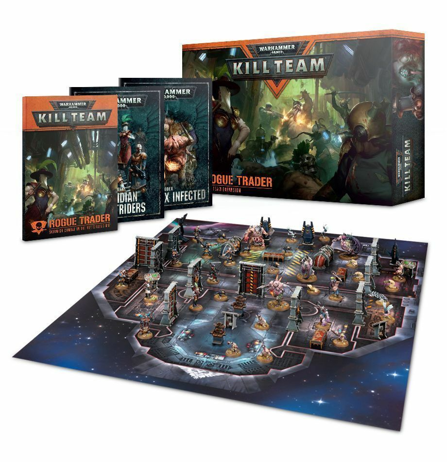 Warhammer 40k - Kill team Rogue Trader Boxed Game - Starter Set - 20% off rrp