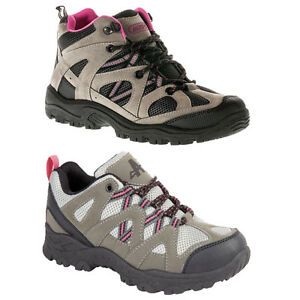 Image is loading Ladies-Womens-Girls-Hiking-Walking-Trail-Trekking-Trainers- 2050d13df67b