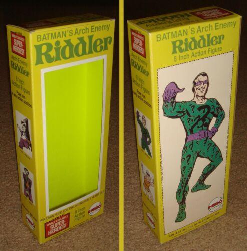 """MEGO 8/"""" RIDDLER BOX ONLY"""