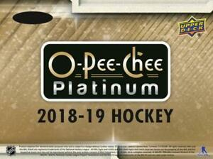 2018-19-O-Pee-Chee-OPC-Platinum-Hockey-Cards-Pick-From-List
