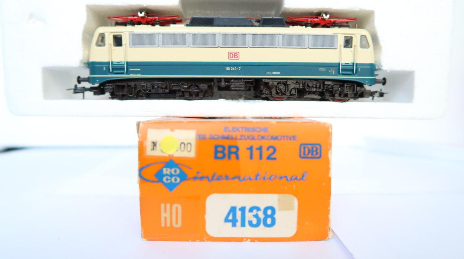 ROCO HO/DC 4138 E-Lok BR 110 340-7 DB  cq/185-45r2/9