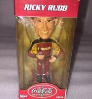 Coca-cola Racing Family Ricky Rudd Nascar 28 Bobble Head 4.5 2002 Collect