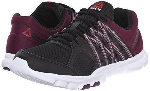 a15a2695122 REEBOK Yourflex Trainette 8.0L MT BLACK ORCHID Training Shoe V72488 Women s  8