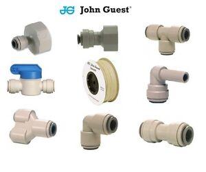 John-Guest-1-4-034-Wasserfilter-Schiebepassung-Wasserhahn-verbindungen-Filter