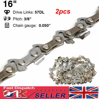 16/'/' 57 Drive Links 3//8 Pitch 0.05/'/' Gauge Chainsaw Saw Mill Chain Spare Replace