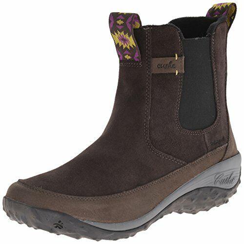 Cushe Women's Allpine Peak WP Boot, Dark Grey