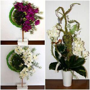 Exc Orchidee Kunstblume Tischdeko Buro Deko Dekoration Arrangement
