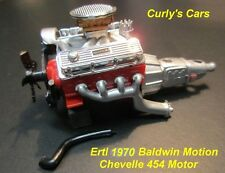 1:18 SCALE ERTL 1970 70 CHEVROLET BALDWIN MOTION CHEVELLE 454 MOTOR