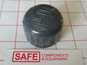Spears-848-010-1-034-FPT-Cap-Fitting-QTY-1-PVC-Schedule-80-Gray-Pipe-MM-522