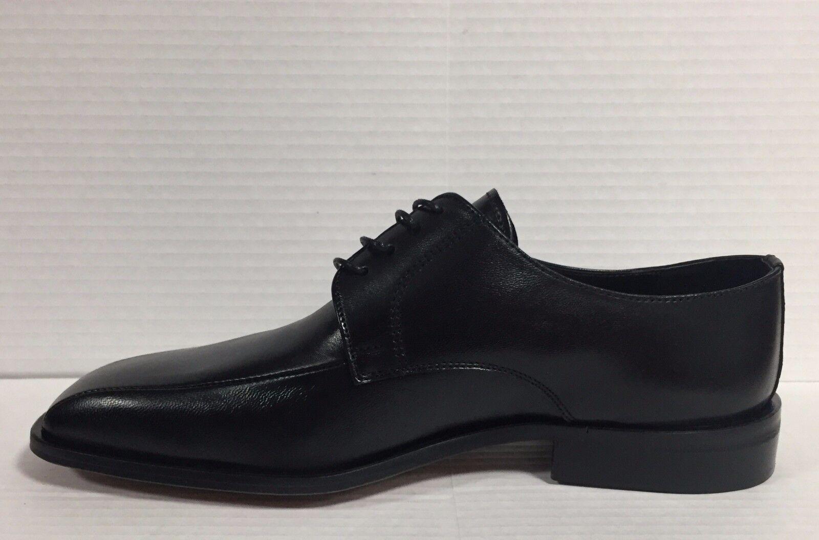 MELL O scarpe uomo in classiche in uomo pelle nero suola in cuoio made in Italy U0662 16e1bc