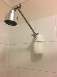 efficient shower filter nsf carbon remove 98 chlorine top quality guarantee ebay. Black Bedroom Furniture Sets. Home Design Ideas