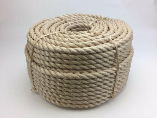 16 mm x 30 Mts Sisal Sisal pour terrasse Corde synthétique Sisal jardin /& Boating