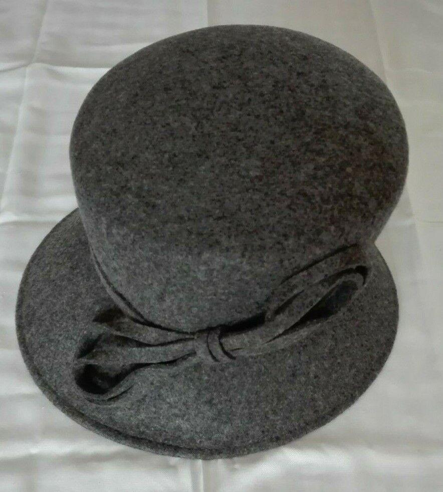 Womens Walter Wright grey hat - wedding/formal/races/etc hat