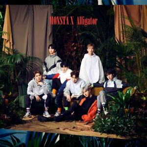 Details about MONSTA X Japan 6th Single [Alligator] Type A (CD + DVD)  Limited Edition